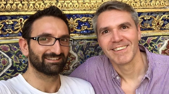 Diagrama adopters Jason and Eric share their story for LGBT adoption and fostering week