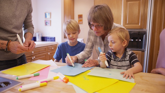 Grandparents can play a vital role in supporting adopters